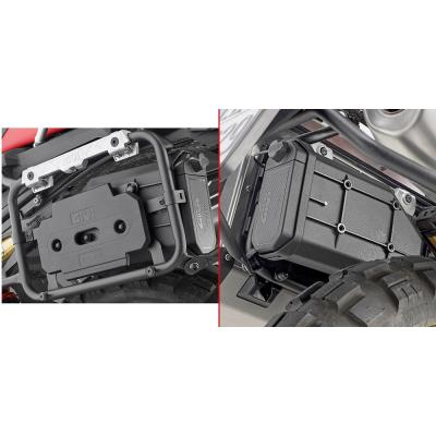 Kit fixation pour Tool Box Givi sur supports PL5127CAM BMW F 850 GS 18-20