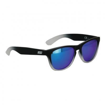 Lunette de soleil S-Line N°20 verres iridium bleu monture noir mat