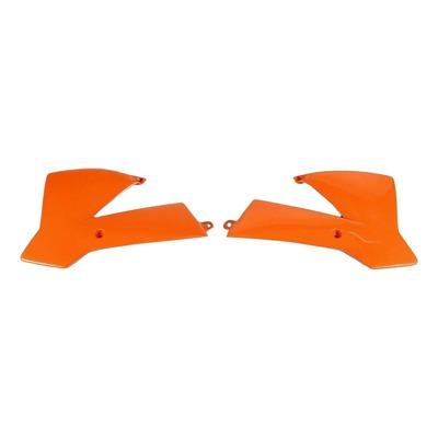 Ouïes de radiateur UFO KTM 65 SX 02-08 orange (orange KTM 98-12)