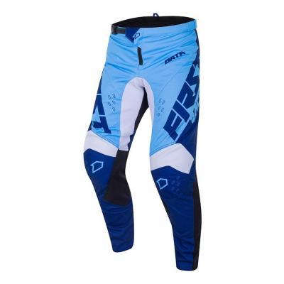 Pantalon cross First Racing Data Evo bleu/marine/blanc
