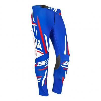 Pantalon de Trial S3 Racing Team Patriot bleu/rouge/blanc