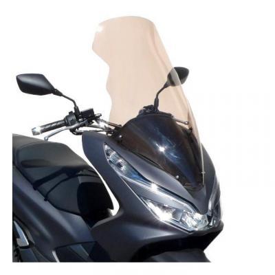 Pare-brise Bullster haute protection 73,5 cm incolore Honda PCX 125 18-19