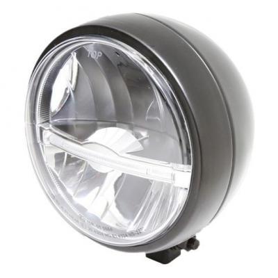 Phare LED Highsider Jackson fixation inférieure noir