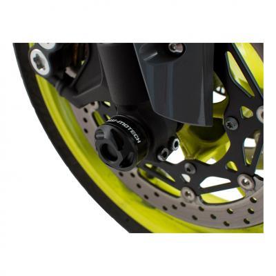Protection de fourche SW-MOTECH noir Yamaha YZF-R1 15- / MT-10 16-