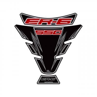Protection de réservoir Motografix noir Kawasaki ER6 3 pièces