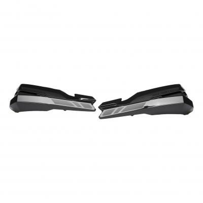 Protège-mains SW-MOTECH KOBRA noir XRV750 / KLR650 / XT600 / XT660 / DR