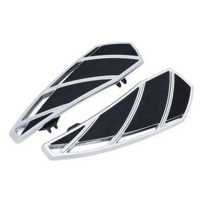 Repose pieds plateau Phantom Kuryakyn Harley Davidson Street Glide 99-20 chrome