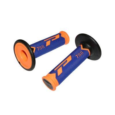 Revêtements de poignée Progrip 788 orange fluo/bleu/noir