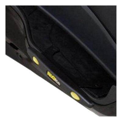 Slider de marche-pieds R&G Racing noir Suzuki Burgman 400 12-17