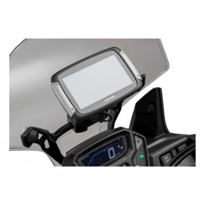 Support GPS SW-MOTECH QUICK-LOCK pour barre de guidon noir