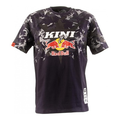 T-shirt Kini Red Bull Urban camouflage noir