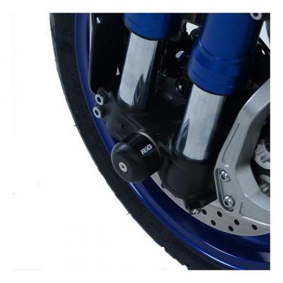 Tampons de protection de fourche R&G Racing noir Yamaha Niken 850 18-20