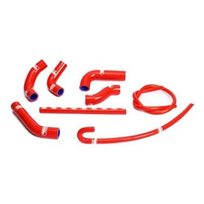 Durites de radiateur Samco Sport type origine Honda XR 650R 00-07 rouge (8 durites)