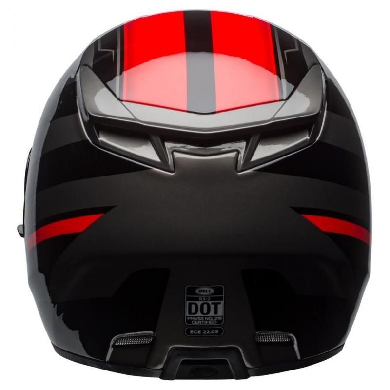 Casque intégral Bell RS 2 Tactical rouge/noir/titanium - 7