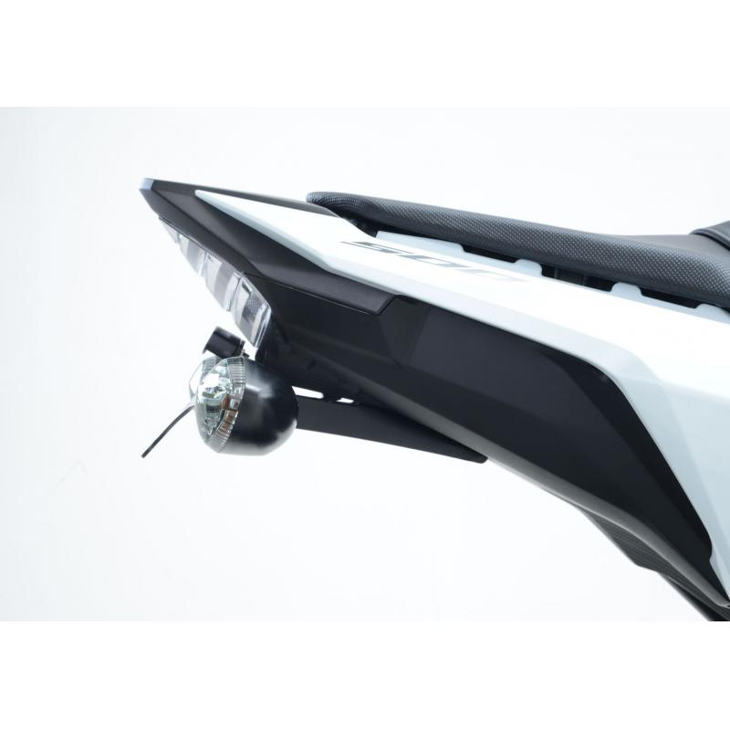 Support de plaque d'immatriculation R&G Racing noir Honda CBR 500 R 16-18 - 2