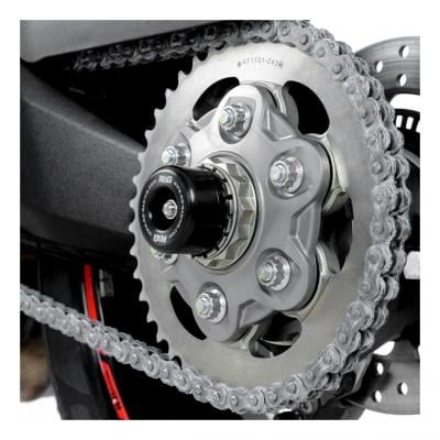Tampons de bras oscillant R&G Racing noir Ducati Multistrada 1200 10-15