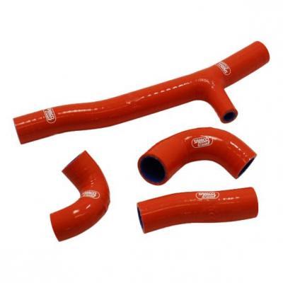 Durites de radiateur Samco Sport type origine KTM 250 EXC TPI 2020 orange (4 durites)