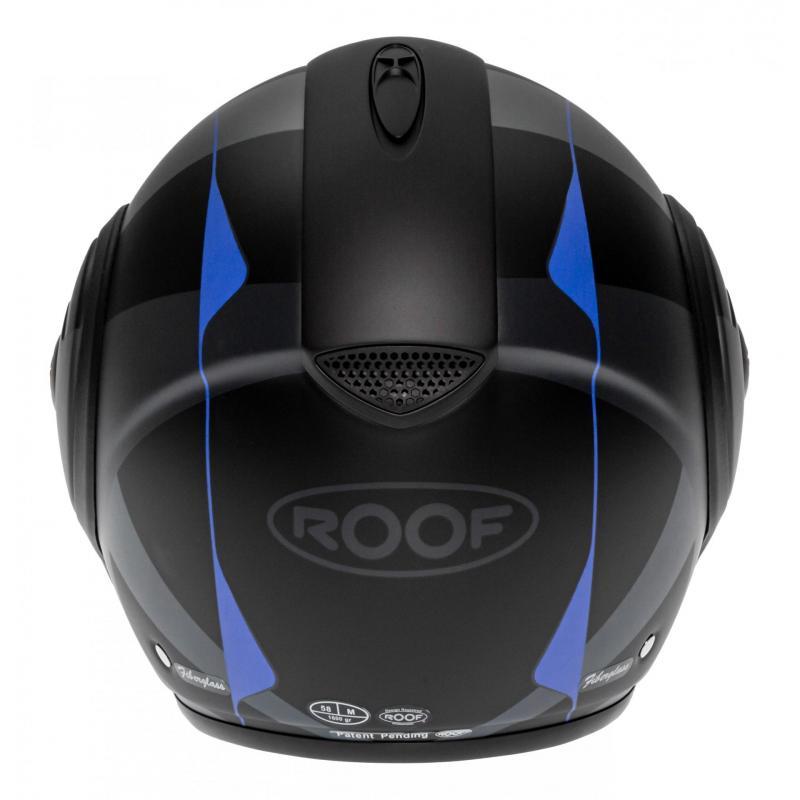Casque modulable Roof RO9 Boxxer Viper noir/bleu mat - 6