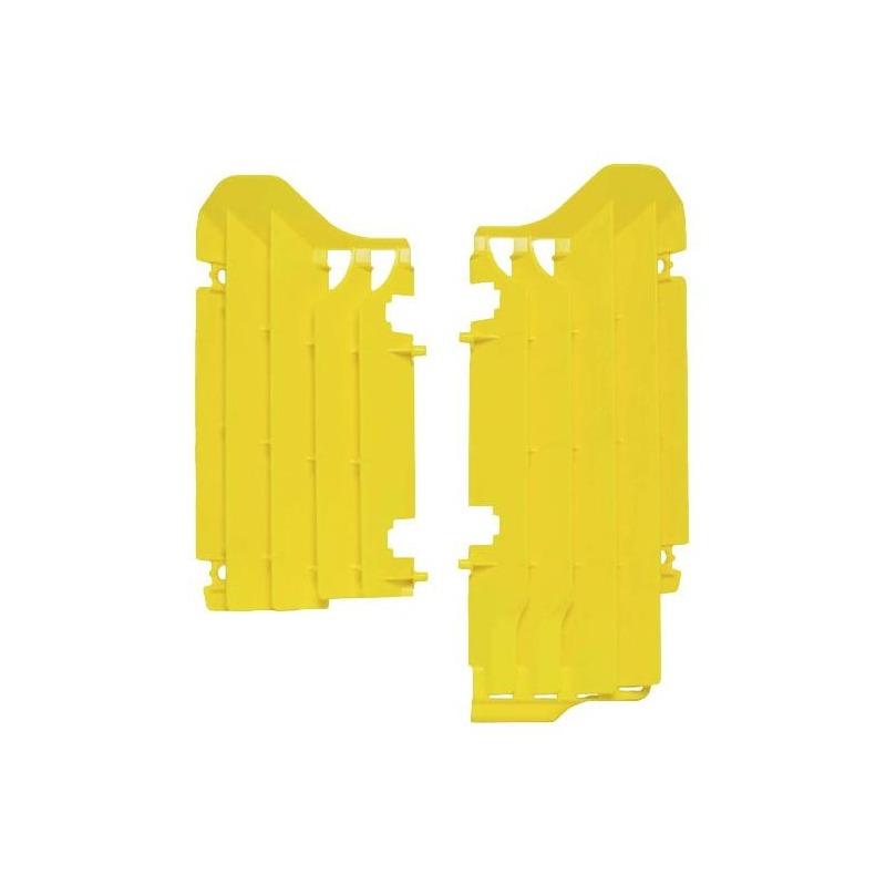 Protection de radiateur RTech Suzuki 250 RM-Z 19-20 jaune (jaune RM)