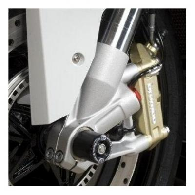 Tampons de protection de fourche R&G Racing noirs BMW S 1000 RR 10-18