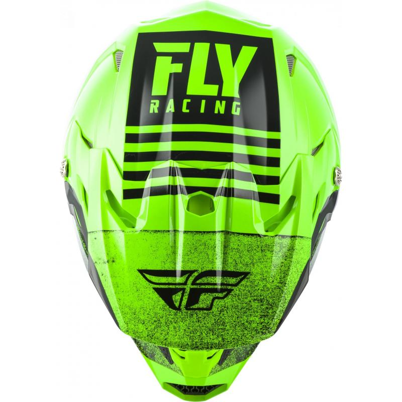 Casque cross Fly Racing Toxin Mips Embargo vert/noir - 2