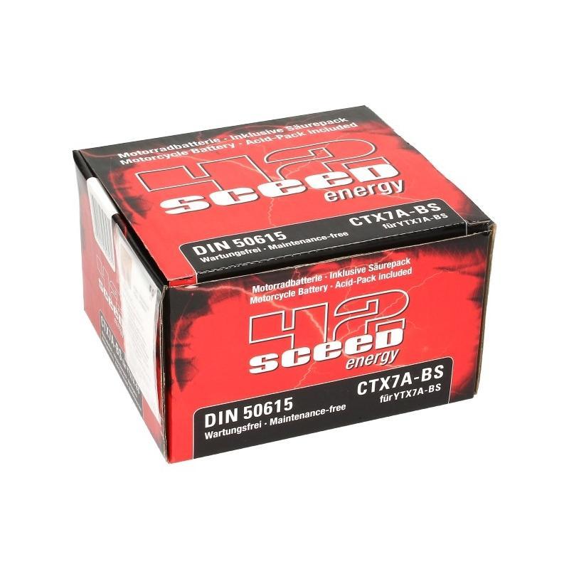 Batterie Sceed 42 YTX7A-BS 12V 6Ah avec pack acide - 3