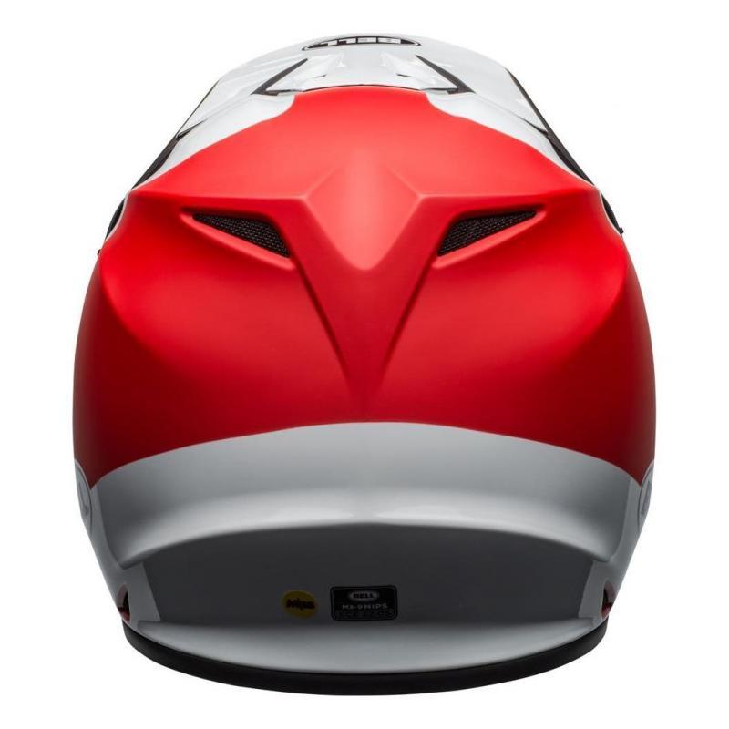 Casque cross Bell MX 9 Mips Presence noir/blanc/rouge - 2