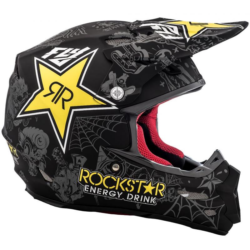 Casque cross Fly Racing F2 Carbon Rockstar - 1