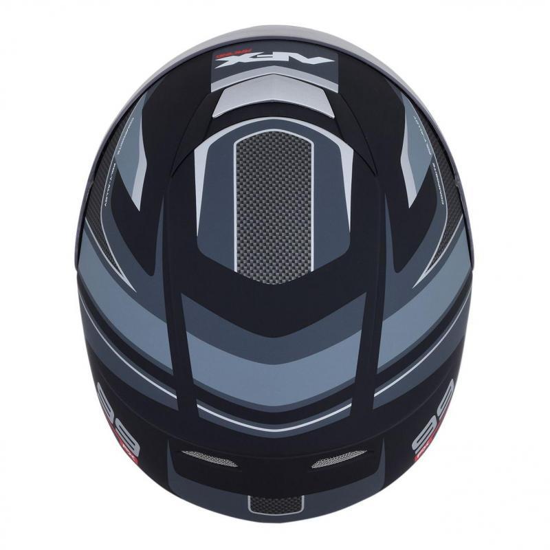 Casque intégral AFX FX99 noir mat/gris - 4