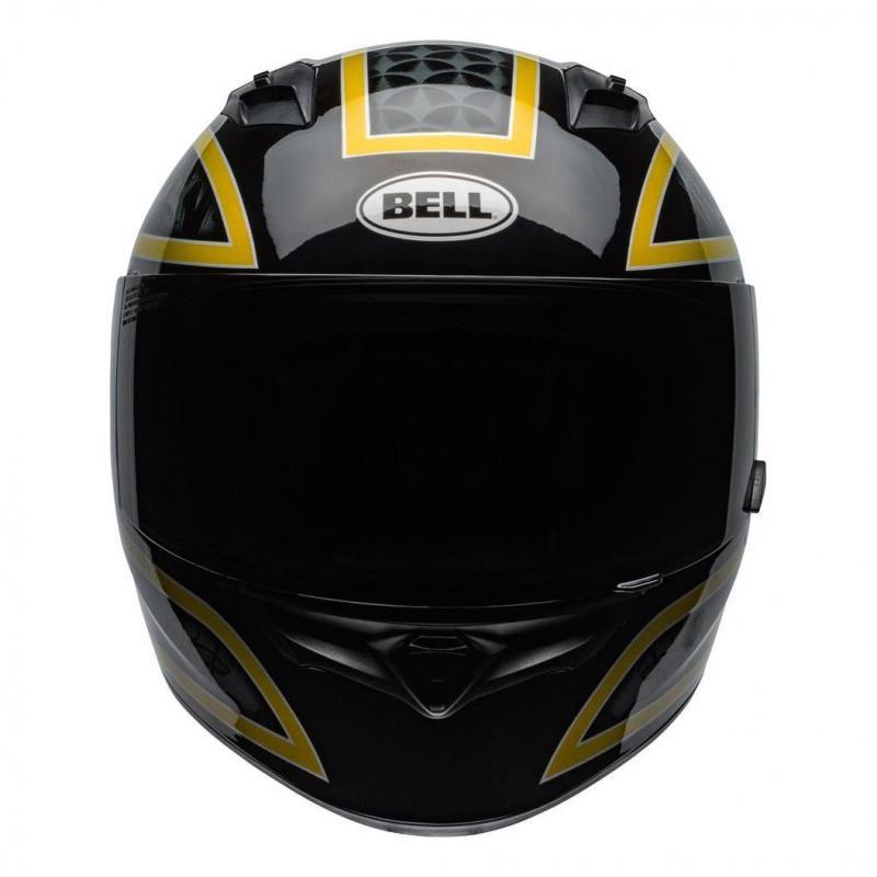 Casque intégral Bell Qualifier Scorch noir/or - 6