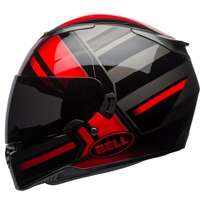 Casque intégral Bell RS 2 Tactical rouge/noir/titanium - 2