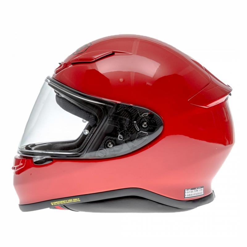 Casque intégral Shoei NXR rouge brillant - 1