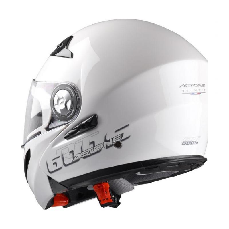 Casque Modulable Astone Rt600s Mono Exclusive blanc gloss - 2