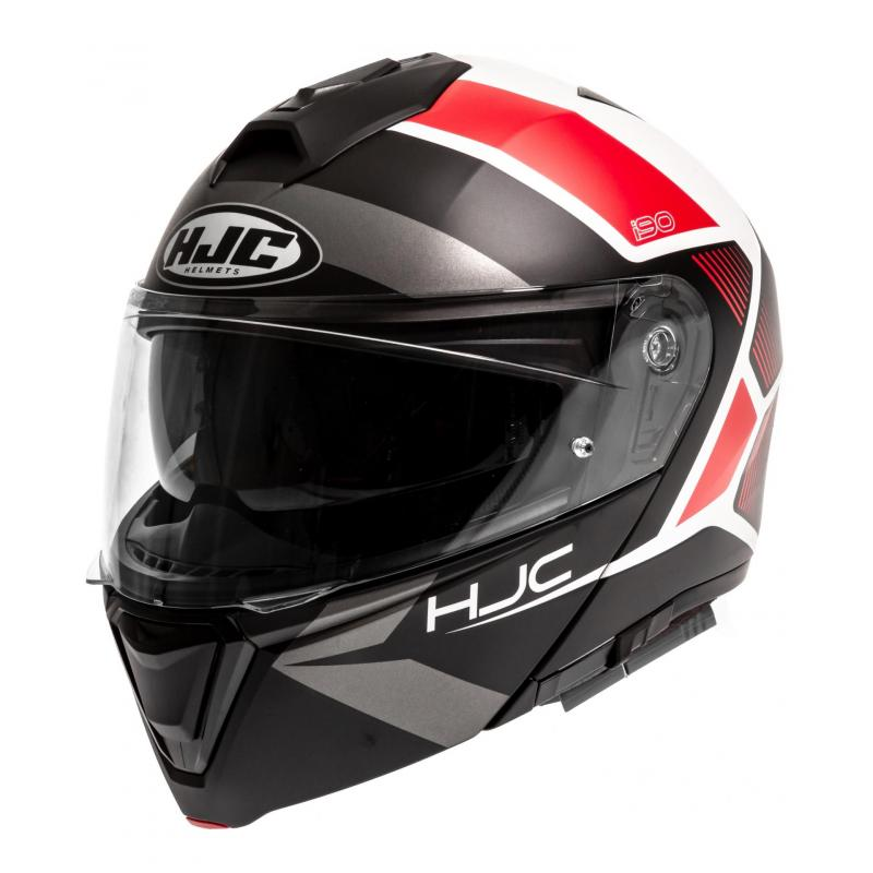 Casque modulable HJC i90 Hollen MC1SF anthracite/noir/rouge mat