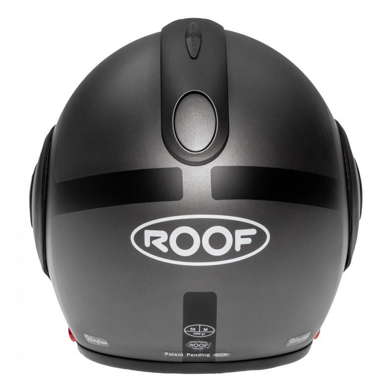 Casque modulable Roof RO5 Boxer V8 Bond titane/noir mat - 6