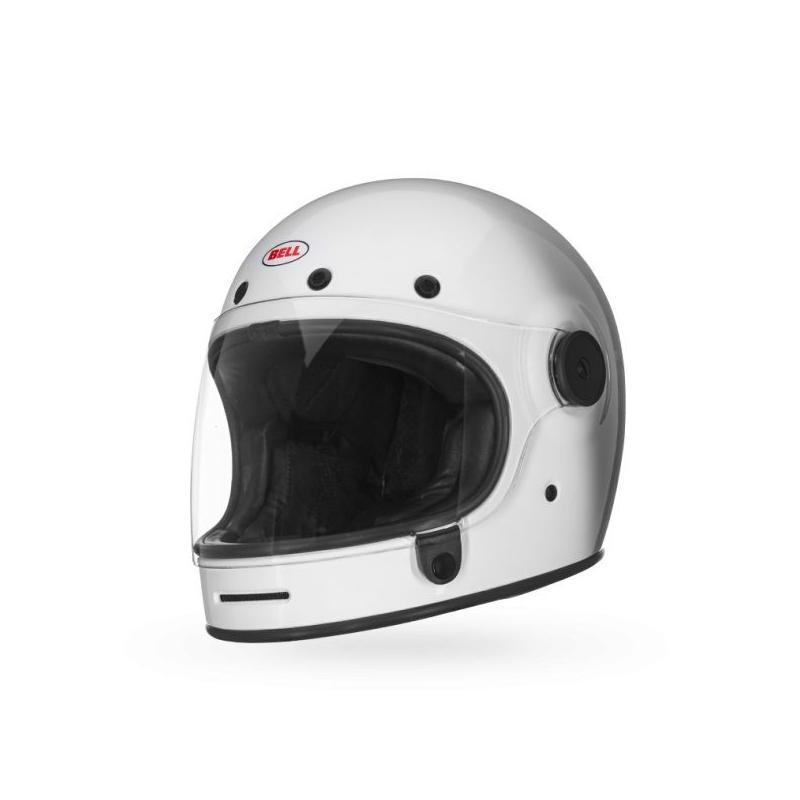 Casque moto intégral Bell Bullitt blanc - 1