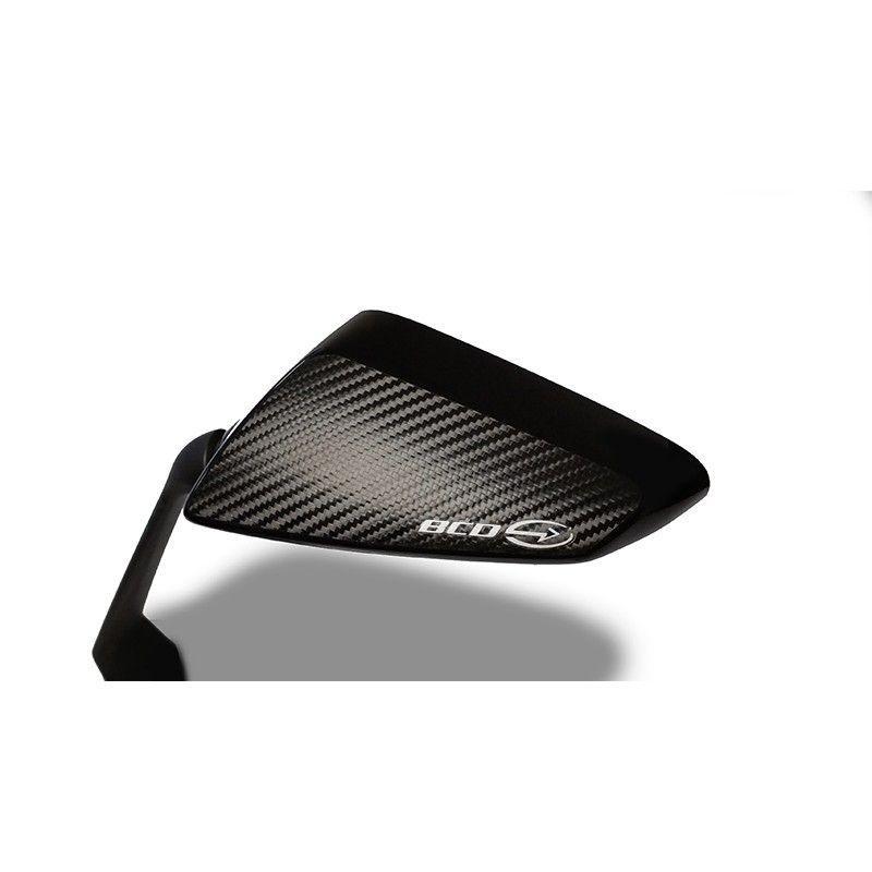 Coque de rétroviseur BCD Yamaha Tmax 530 15-16 noir / carbone - 3