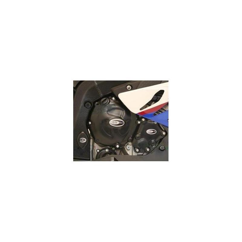 Couvre carter droit (embrayage) R&G Racing noir Kawasaki ZX-10R 08-10