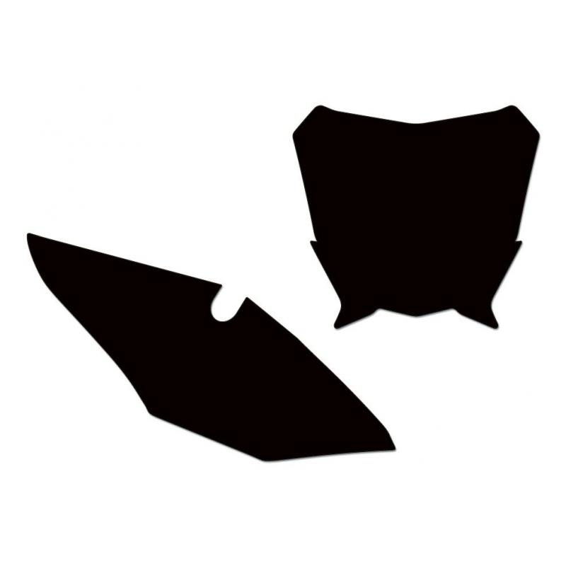Fonds de plaques Blackbird Honda CRF 450R 17-18 noir