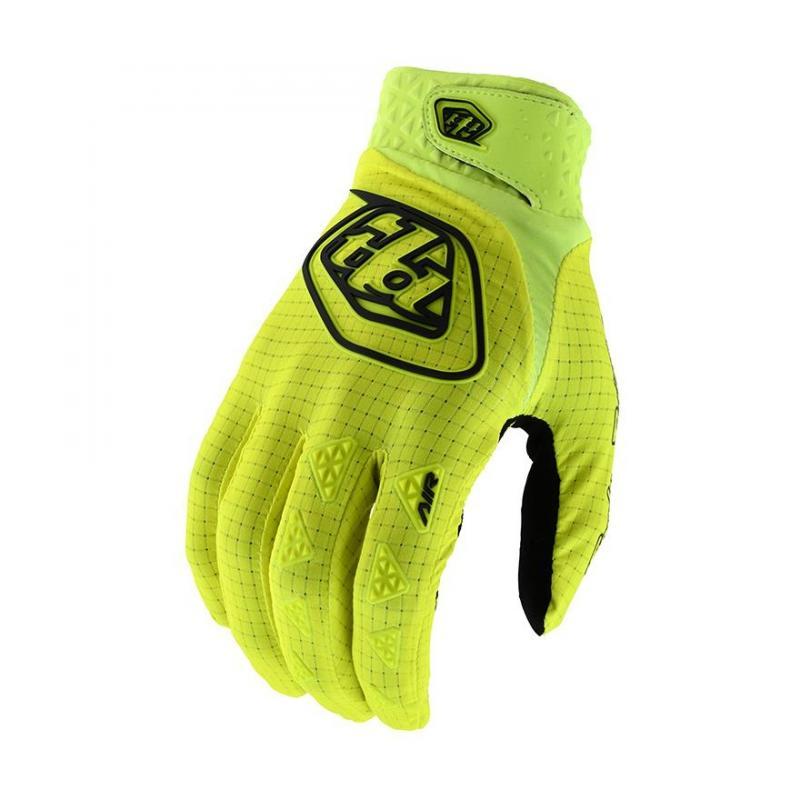 Gants cross Troy Lee Designs Air jaune fluo