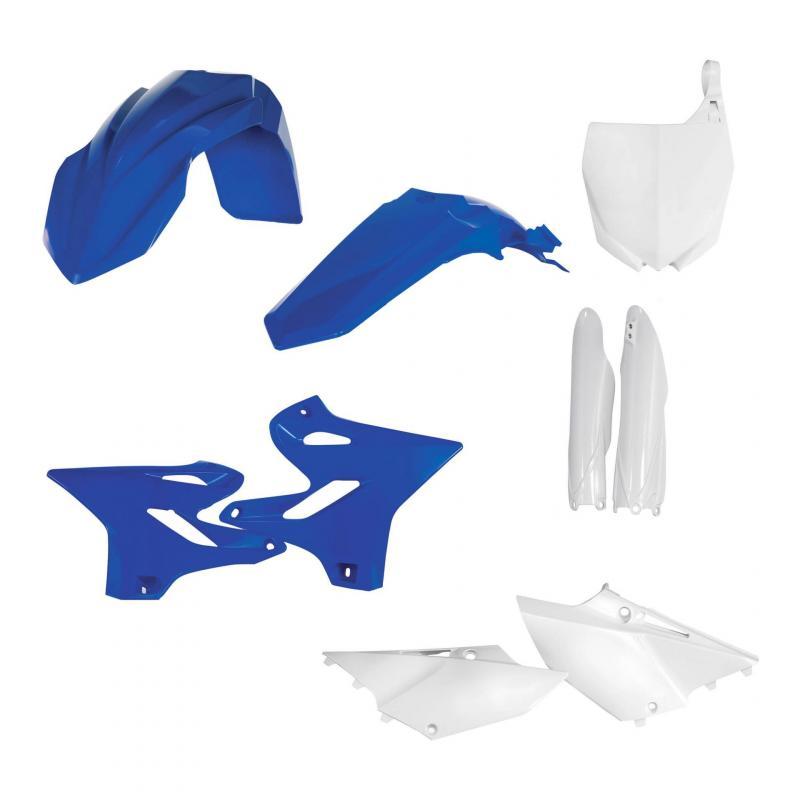 Kit plastiques complet Acerbis Yamaha 125 YZ 19-20 bleu/blanc (couleur origine)