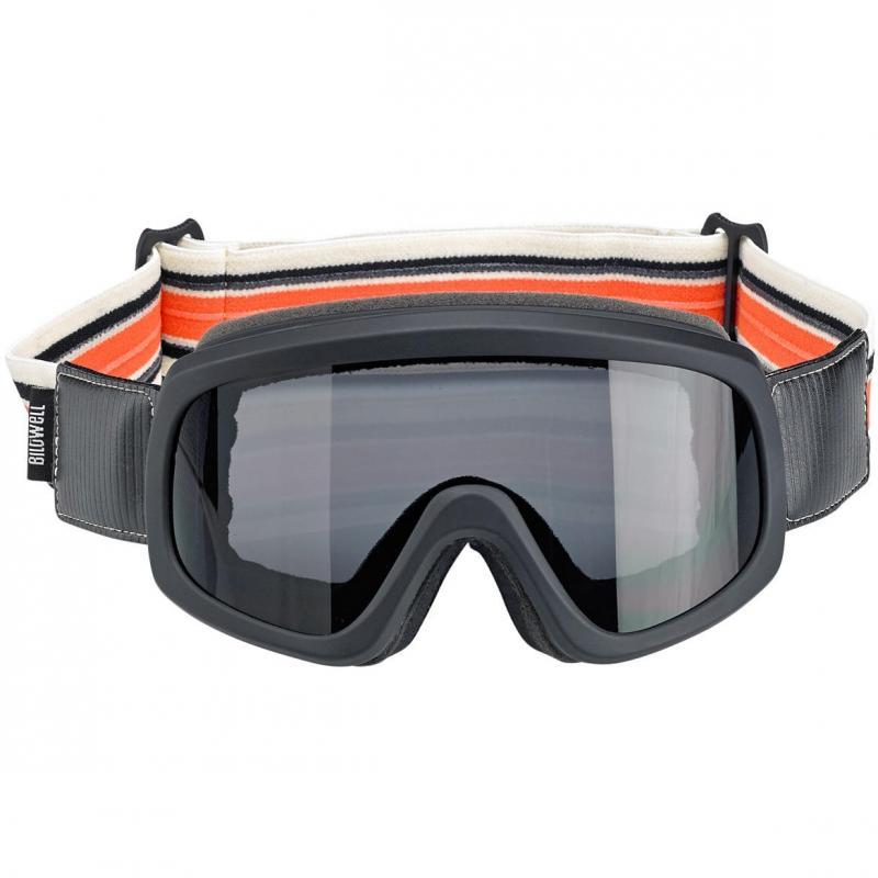 Masque Biltwell Overland 2.0 Racer noir/orange - 2