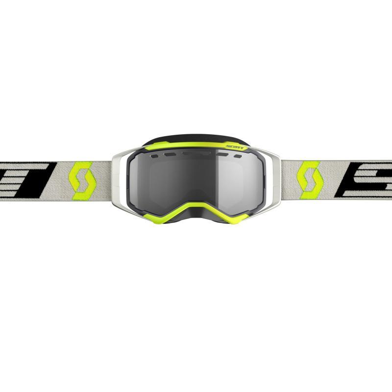 Masque cross Scott Prospect Enduro gris/noir/jaune – écran Light Sensitive - 2