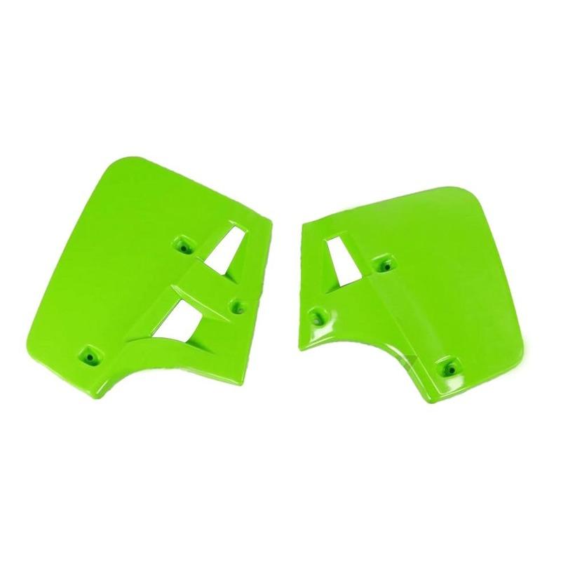 Ouïes de radiateur UFO Kawasaki 500 KX 1987 vert (vert KX)