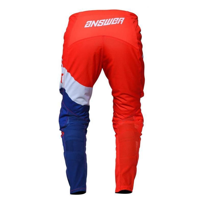 Pantalon cross Answer Syncro Voyd rouge/reflex/blanc - 1