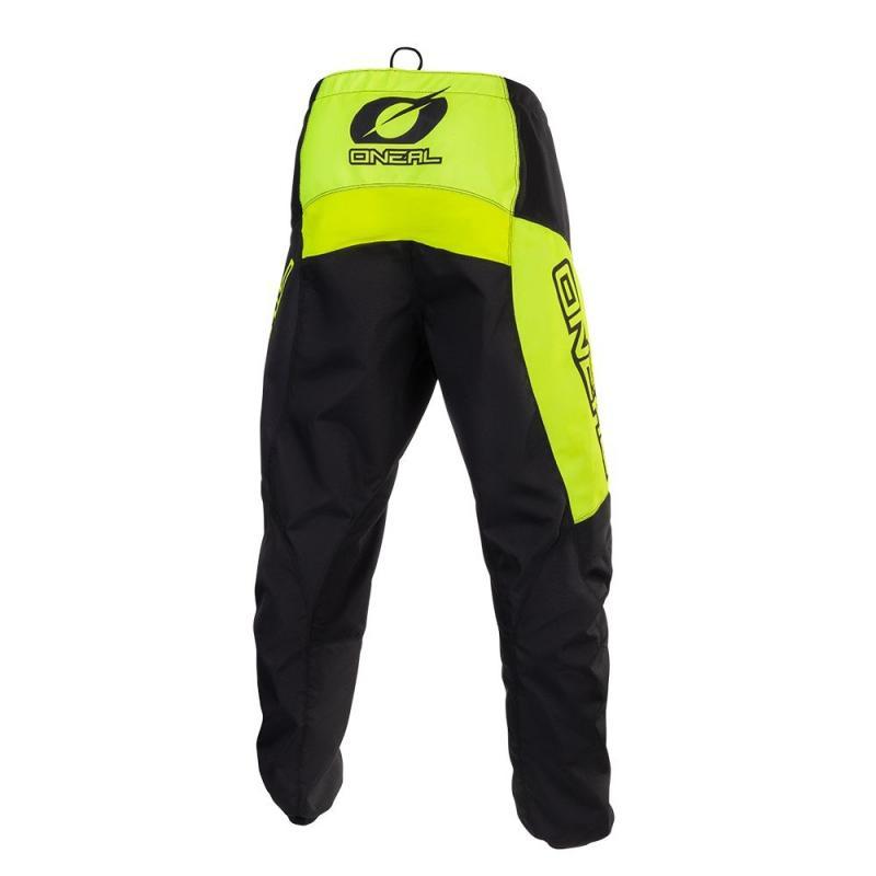 Pantalon cross O'Neal Matrix Ridewear jaune fluo - 1