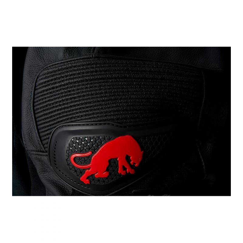 Pantalon cuir Furygan Raptor Evo noir/rouge - 7