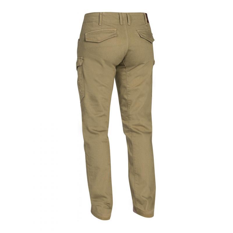 Pantalon moto Ixon Cargo sable - 1