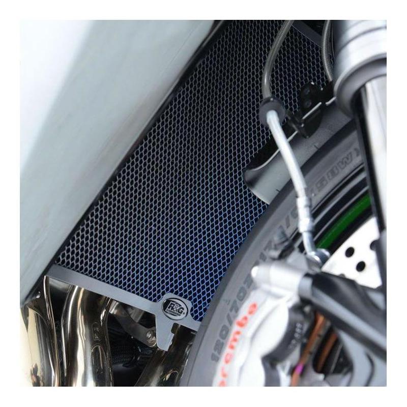 Protection de radiateur d'eau R&G Racing titanium BMW S 1000 RR 10-14