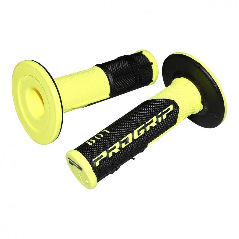 Revêtements de poignée 801 Progrip noir/jaune fluo